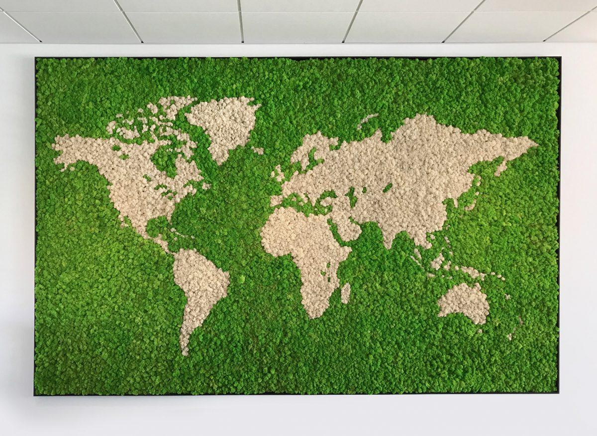 Lichen World Maps